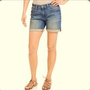 DNKY boyfriend jean shorts